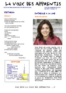 La Voix des Apprentis N° 15 – Mai 2010 – L'autorité