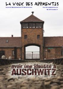 La Voix des Apprentis N° 21 – Mai 2013 – Avoir une identité à Auschwitz