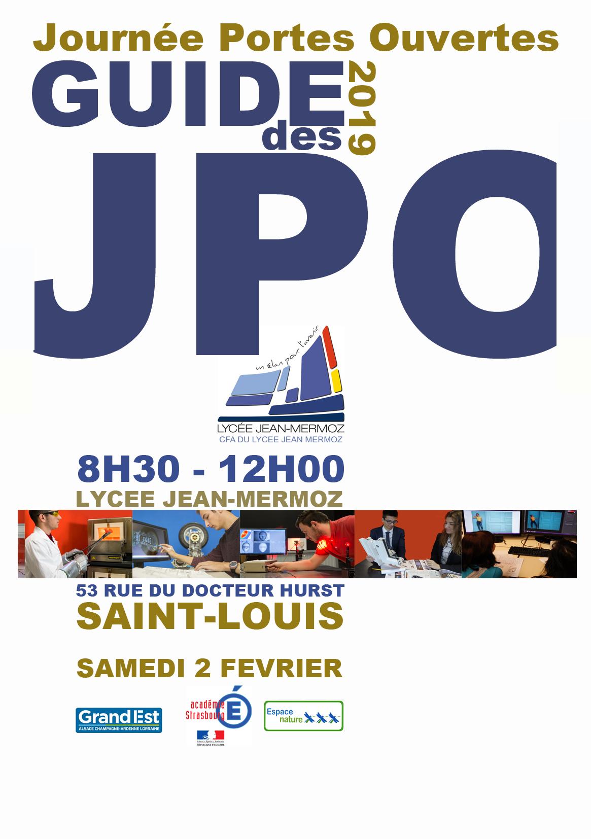 Journées Portes Ouvertes Lycée Jean Mermoz Saint Louis