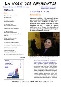 La Voix des Apprentis N° 22 – Décembre 2013 – L'identité
